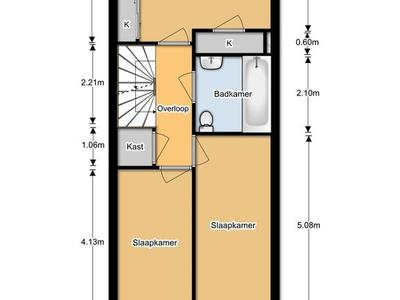 p 1e verdieping
