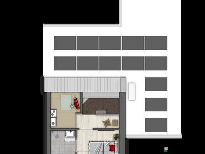 Twee-Onder-Één-Kapwoning | Bouwnummer (Bouwnummer 3) in Rosmalen 5245
