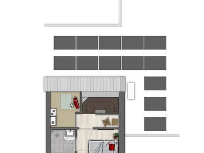 Twee-Onder-Één-Kapwoning | Bouwnummer (Bouwnummer 19) in Rosmalen 5245
