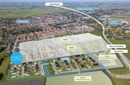 Arent Van Gentlaan Kavel 3 in Spanbroek 1715