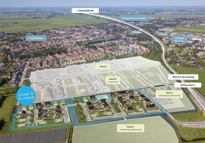 Arent Van Gentlaan Kavel 4 in Spanbroek 1715