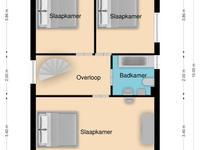 Plattegrond - Eerste verdieping