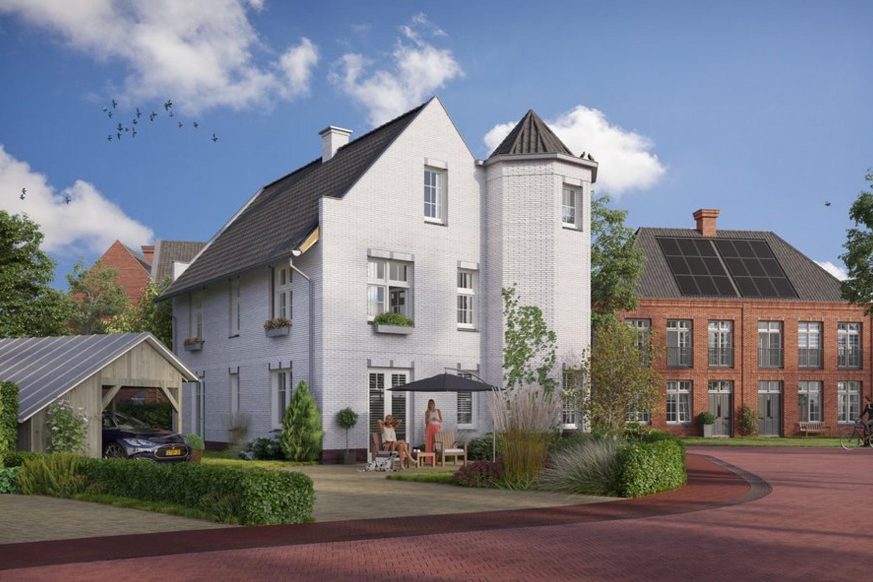 Heesterburgh, Type C/Cx in 'S-Hertogenbosch 5221 PH