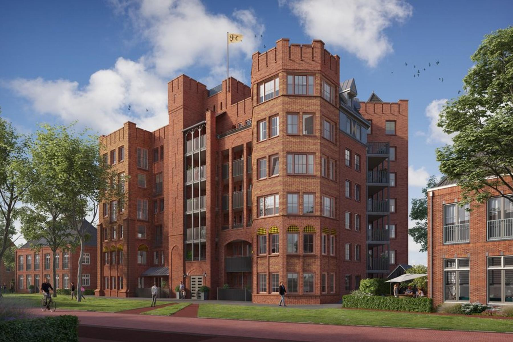 Heesterburgh, Penthouse A24 in 'S-Hertogenbosch 5221 PH