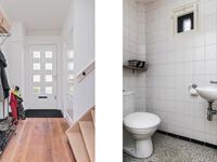 Indeling<BR>Begane grond: <BR>Mooie entree met schuurwerk wanden en plafond, een houten vloer met toegang tot het volledig betegelde toilet met fonteintje, de kelderkast en de compleet vernieuwde meterkast. De hal geeft toegang tot de woonkamer en de keuken.