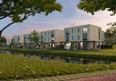 Bouwnummer in Hoogvliet Rotterdam 3192