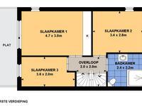 Polkastraat 1 in Barendrecht 2992 GV