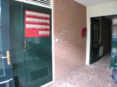 Gezamenlijke entree met brievenbussen
