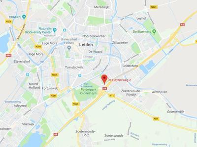 De Heyderweg in Leiden 2314 XZ
