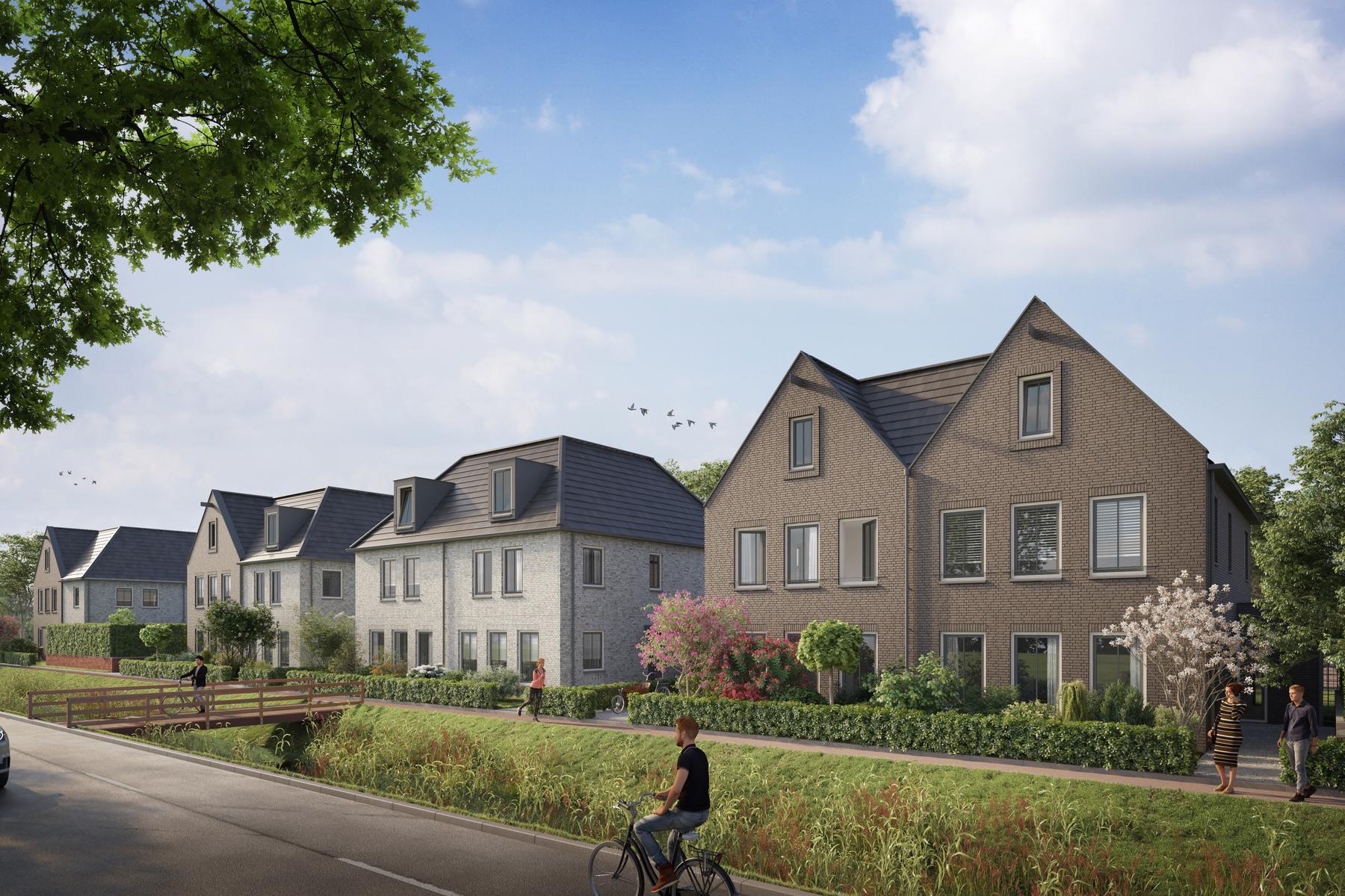 Halfvrijstaande Villa'S Spieringweg (Bouwnummer N.T.B.) in Vijfhuizen 2141 EB