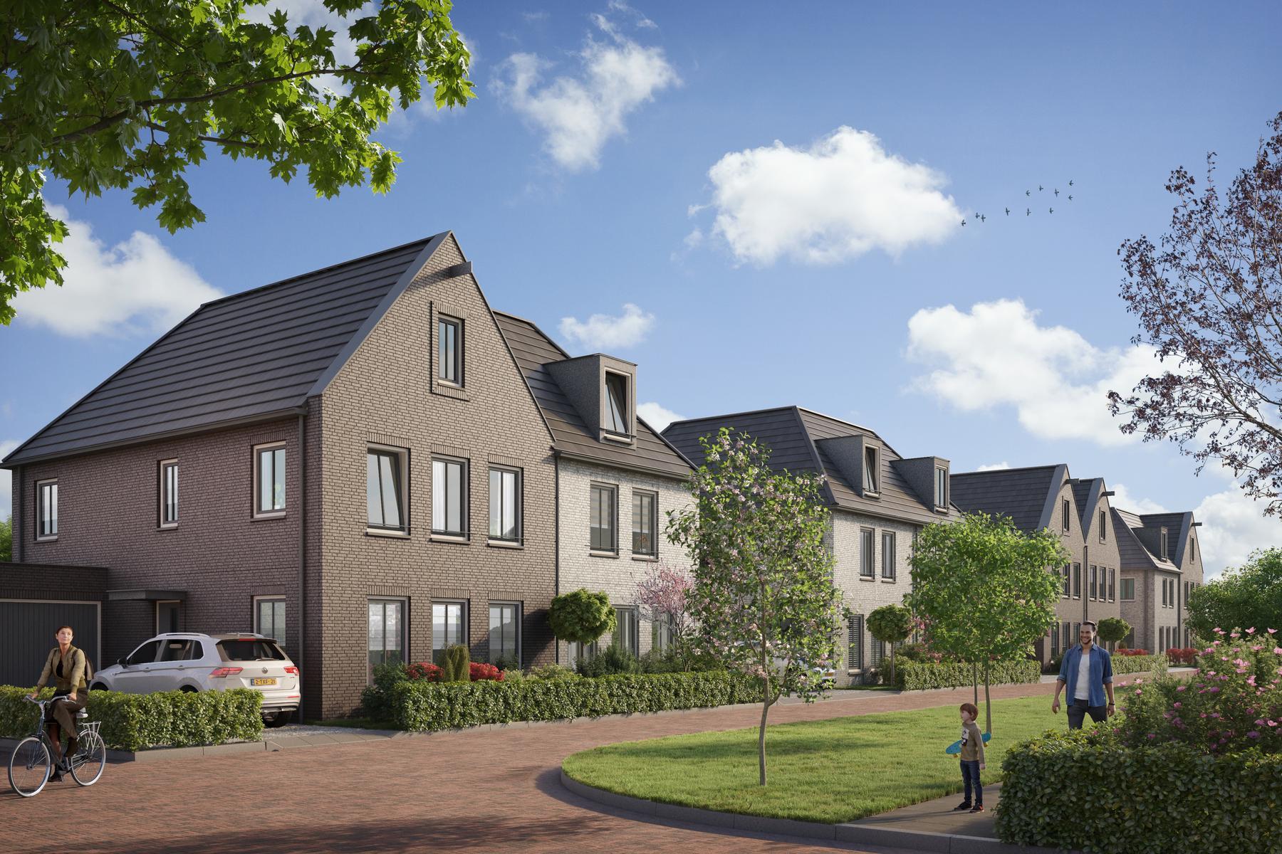 De Halfvrijstaande Villa'S (Bouwnummer N.T.B.) in Vijfhuizen 2141 EB
