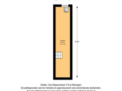 Van Nispenstraat 114 in Nijmegen 6521 KR