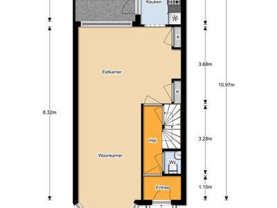 Wester Hordijk 374 in Rotterdam 3079 DM