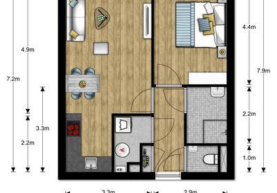Dorpsstraat 1 App 8 in Mijdrecht 3641 EA