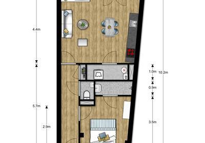Dorpsstraat 1 App 6 in Mijdrecht 3641 EA