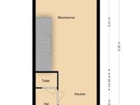 Krullevaar 20 in Kapelle 4421 TC