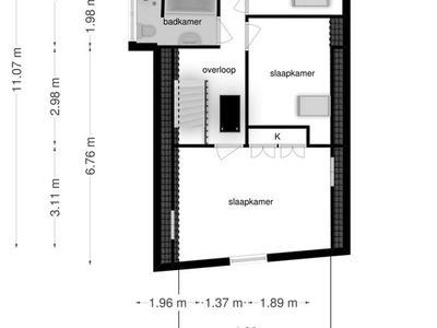 Dwarsnoard 53 in Workum 8711 AR