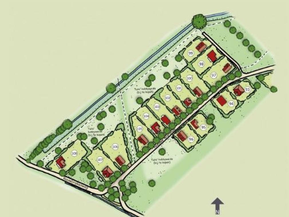 Buitengoed Nieuwe Warande Deelplan 5B # 105 in Tilburg 5012 TG