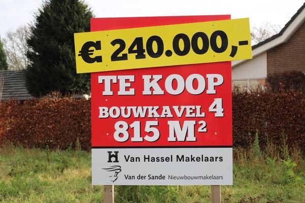 De Groene Kamers Bouwkavel 4 in Rijsbergen 4891 XV