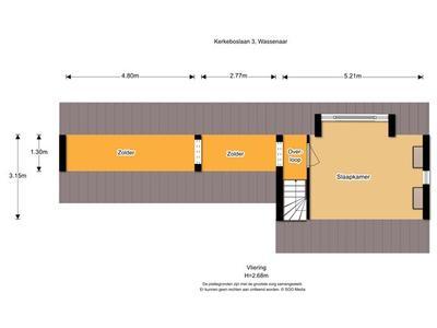 Kerkeboslaan 3 in Wassenaar 2243 CM