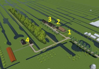 Landgoed 'Middelblok' Kavel 1 in Gouderak 2831 BL