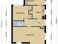 Torenes 26 in Borger 9531 JB