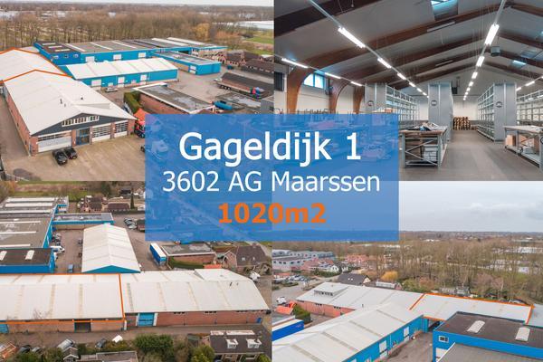 Gageldijk 1 5-6 in Maarssen 3602 AG