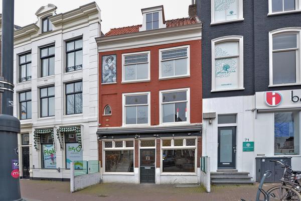 Gedempte Oude Gracht 69 +  69A in Haarlem 2011 GM