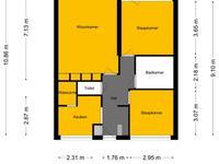 Coornhertstraat 49 in Vlaardingen 3132 GB