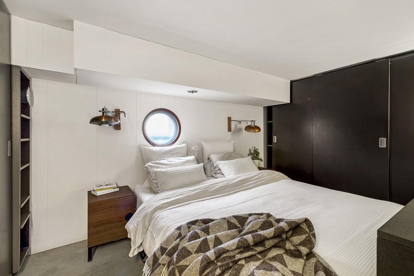Woonboot - slaapkamer