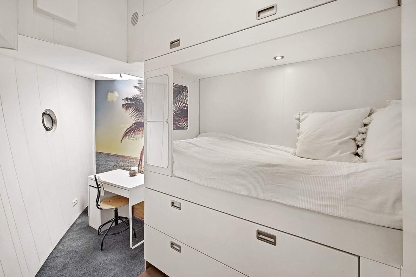 Woonboot - slaapkamer klein